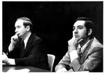 WHTN, TV 13, director Donald Cunningham, & George Curry, WSAZ, Jan. 1975