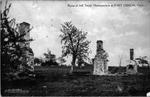 Ruins of Jefferson Davis's Headquarters, Fort Gibson, Ok