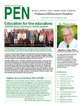Marshall University Joan C. Edwards School of Medicine, Professional Enhancement Newsletter, Fall 2014