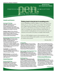 Marshall University Joan C. Edwards School of Medicine, Professional Enhancement Newsletter, Spring 2012 by Darshana Shah