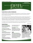 Marshall University Joan C. Edwards School of Medicine, Professional Enhancement Newsletter, Fall/Winter 2010