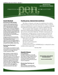 Marshall University Joan C. Edwards School of Medicine, Professional Enhancement Newsletter,  Fall/Winter 2009-2010
