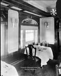 Baltimore & Ohio (B&O) Railroad Colonial Dining Car Interior by Marshall University