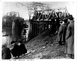 Guyandotte, W.Va., Chesapeake & Ohio Railroad Bridge After Collapse