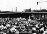 US President Harry Truman at Chesapeake & Ohio Train Station