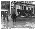 Coast Guard Boat During 1937 Flood by U.S. Army Corps of Engineers