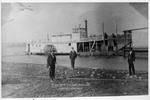 The Catlettsburg, Kentucky wharfboat, the Maxie Yost