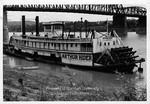 Sternwheel towboat Arthur Hider by Marshall University