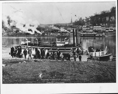 Towboat ferryboat champion no 3 at cincinnati ohio for Marshalls cincinnati oh