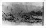Unidentified steamboat wreck by Marshall University