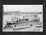 Steam towboat Monie Bauer