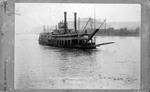 Cincinnati & Pittsburgh steam packet boat Hudson