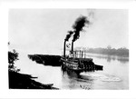 Steam towboat Alice Brown by Marshall University