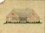 Sketch of residence of Mr. & Mrs. Frank Gibson, Maysville, Ky