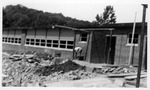 Construction photos of the Hite-Saunders Elementary School, Huntington, 1956