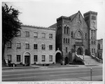 Education Building, 1st Presbyterian Church, Huntington, W.Va. designed by Sidney Day