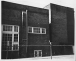 Photo of completed West Junior High School, Huntington, ca. 1950