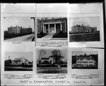 Page of 6 Huntington buildings designed by Sidney Day, ca. 1950