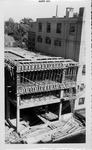 Construction photo of Huntington Publishing Co. building addition, 1957