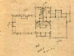 Sketches of residence of W.W. Payne, Huntington, W.Va.,