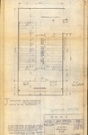 Architect's sketch by Sidney Day of Huntington,W.Va. YMCA chapel, 1956