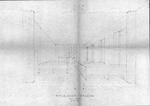 Architect's 3-d perspective by Sidney Day of Huntington,W.Va. YMCA chapel