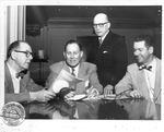 Huntington Rotary Club members, Feb. 20, 1955,