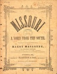 Missouri! A Voice From the South