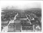Flood of Jan. 1937 aerial view,  4th Ave & 11th St.facing east