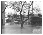 Flood of Jan. 1937, 4th Ave & 11th St., facing NW, Kisers Drugs Lunchenonette