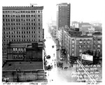 4th Ave. & 10th St, looking west by U.S. Army Corps of Engineers, Huntington Division