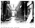 3 1/2 Alley between 9th & 10 St., looking east by U.S. Army Corps of Engineers, Huntington Division
