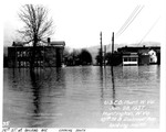 10th St and Railroad Ave, looking south by U.S. Army Corps of Engineers, Huntington Division