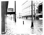 10th St. looking toward river from near 5th St., looking north towards 3rd Ave. by U.S. Army Corps of Engineers, Huntington Division