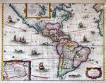 America Noviter Delineata by Jodocus Hondius Jr.