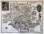 Nova Virginiæ Tabula by Henricus Hondius
