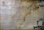 A Map of the British and French Dominions in North America with Roads, Distances, Limits and Extend of the Settlements