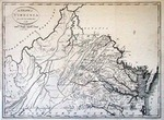 The State of Virginia from the Best Authorities [Facsimile by Andrew V. Graham Co., Washington, D.C., not dated] by Jean Lattre