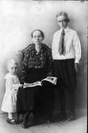 Lena (Seamonds) Tinsley, Raymond R. Burns, H. Carvel willey, 1917