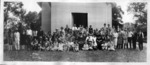 Panoramic view of Seamonds family reunion, Huntington, W.Va. Aug. 8, 1926