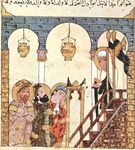 Abou Zayd Preaching in the Mosque of Samarkand by Robert Ellison