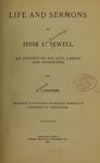 Life and Sermons of Jesse L. Sewell. An Account of His Life, Labors and Character