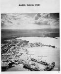 Mariel Naval Port, Cuba, showing 3 Russian ships in harbor, Nov 2, 1962