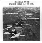 Guanajay IRBM missile site, Cuba, showing nuclear storage bunker, Nov 1, 1962 by US Army Engineers Intelligence Division