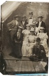 C. W. Sloan & unidentified group at Bay Ridge, June 22, 1893
