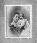 Sarah Sloan Wyatt and son, Charles R. Wyatt, Jr., 1899