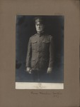 Thomas Manahan Wortham in WWI uniform, 1917