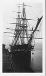 """""""Old Ironsides,"""" (the USS Constitution) at Yorktown, Oct. 16, 1931"""