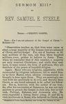 Christ's Gospel by Samuel E. Steele