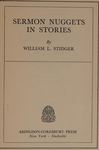 Sermon Nuggets in Stories by William Le Roy Stidger